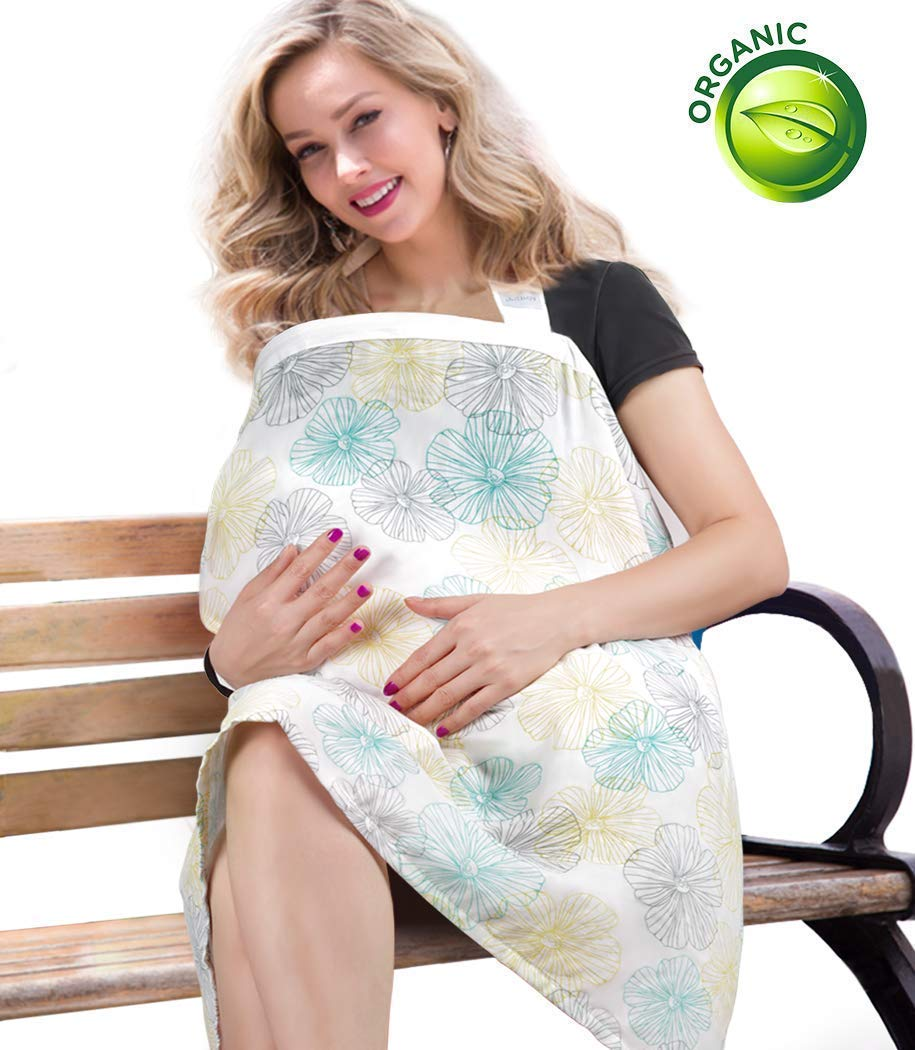 Organic Bamboo Cotton Nursing Cover for Privacy