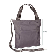 Load image into Gallery viewer, Women's Lyric Foldover Crossbody Travel Tote