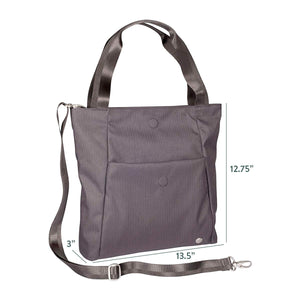 Women's Lyric Foldover Crossbody Travel Tote