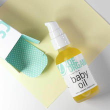 Load image into Gallery viewer, Organic Baby Oil: Calming Blend of Lavender and Chamomile Moisturizes Baby's Delicate Skin
