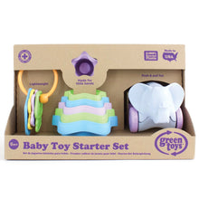 Load image into Gallery viewer, Green Toys Baby Toy Starter Set (First Keys, Stacking Cups, Elephant)