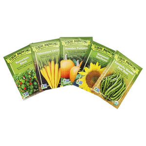 Kid's Garden-Gift Box Collection -High Mowing Organic Seeds - 5 Pack
