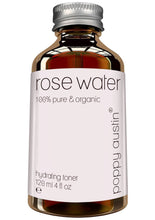 Load image into Gallery viewer, Pure Rose Water Facial Toner  Vegan Certified, Cruelty-Free & Organic  Purified Moroccan Rosewater for Skin, 4 oz.
