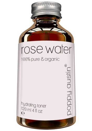 Pure Rose Water Facial Toner  Vegan Certified, Cruelty-Free & Organic  Purified Moroccan Rosewater for Skin, 4 oz.