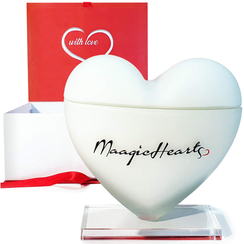 Luxury Organic Heart-Shaped Scented Soy Candles  Lavender & Vanilla Scent