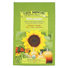 Load image into Gallery viewer, Kid's Garden-Gift Box Collection -High Mowing Organic Seeds - 5 Pack