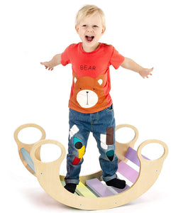 Waldorf - Inspired Wooden Rocking Play