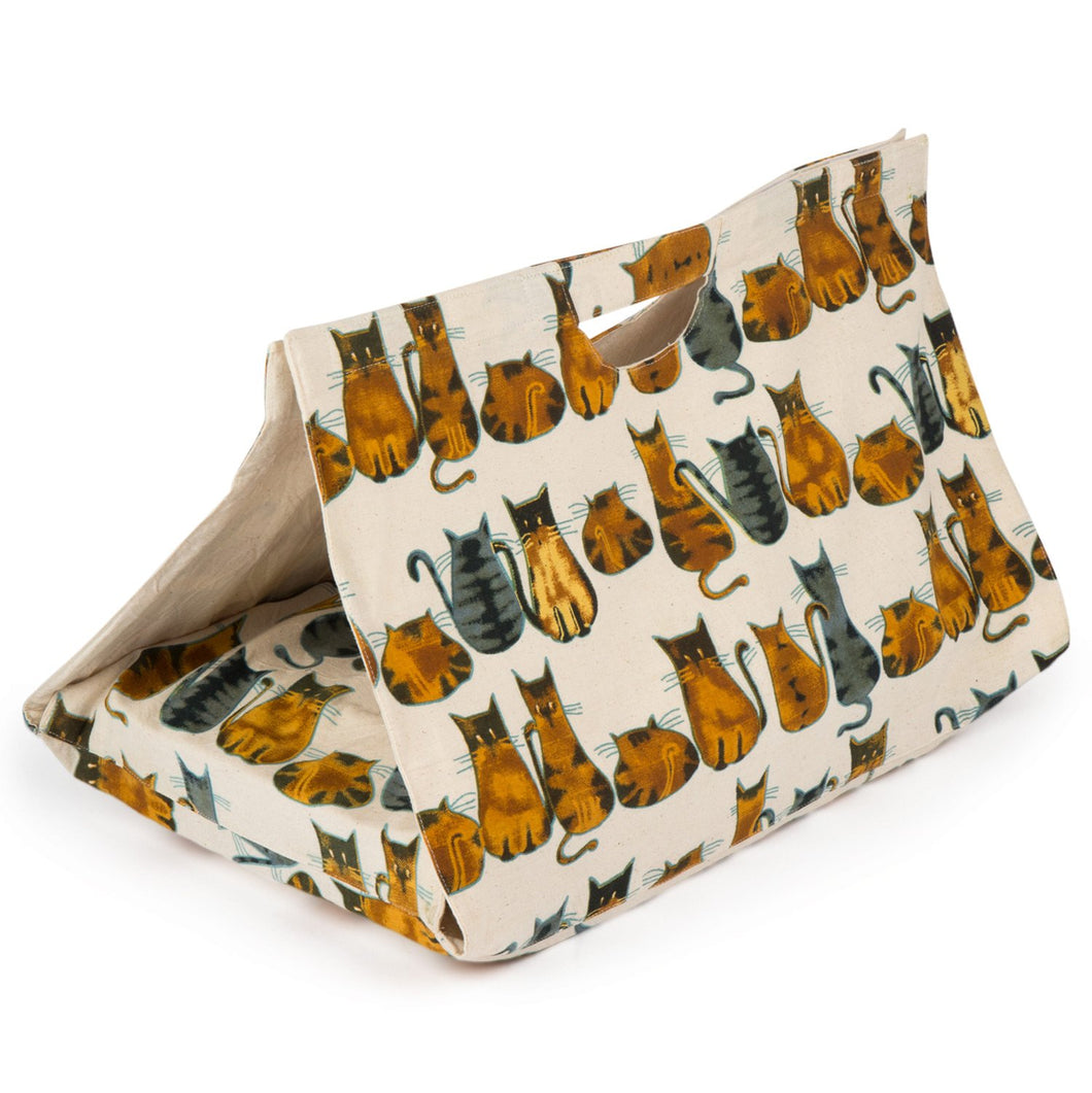 'Cats-serole Dish Carrier' - Fair Trade Potluck Casserole Tote