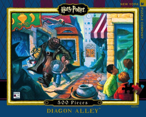 Harry Potter- Diagon Alley - 500 Piece Jigsaw Puzzle