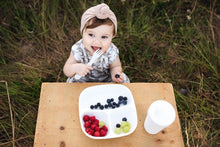 Load image into Gallery viewer, Divided Plates with Deep Sides for Baby, Toddler Meals - 3 Pack