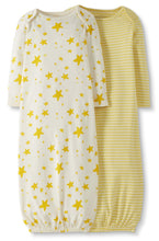 Load image into Gallery viewer, Organic Sleeper Gown3-6 months, 2 Pack