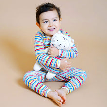 Load image into Gallery viewer, Buddy Tee&Pant Pajama Set with Security Doll