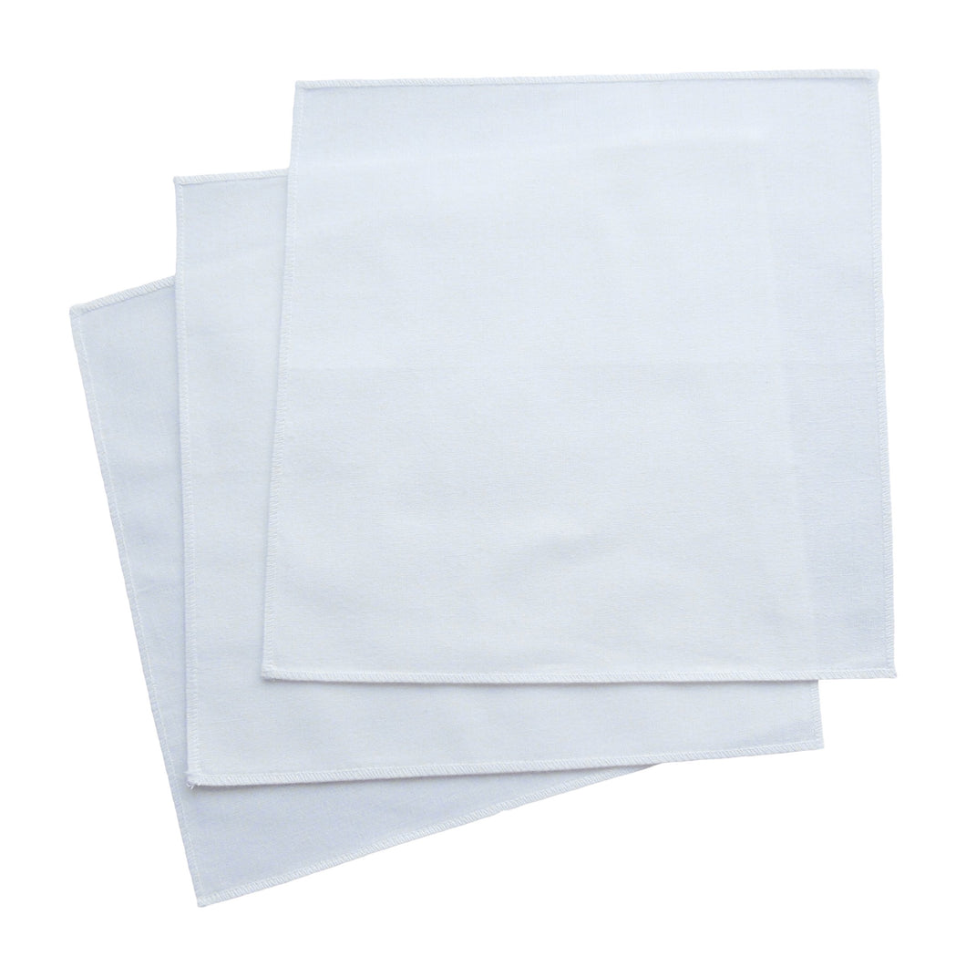 Handkerchiefs - 100% Organic Cotton - 14