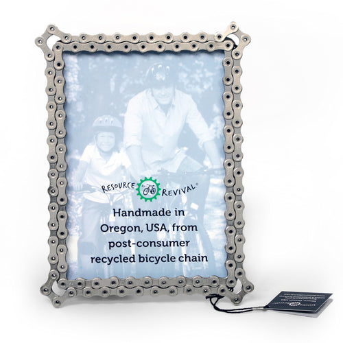 Bike Chain Picture Frame  - 5
