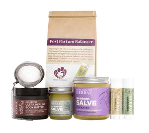 New Mom Gift Set - Natural Skin Care for New Born and Mom