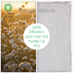 Organic Unbleached Cotton Cheesecloth for Straining, GOTS Certified, Fine Reusable Strainer - Large 18 Sq.ft.