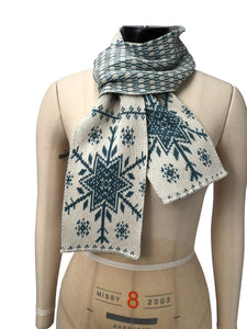 Recycled Cotton Sweater Knit Fashion Scarf
