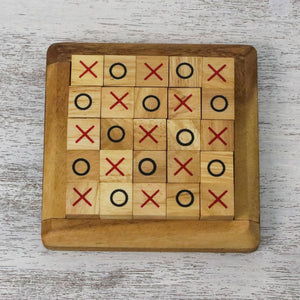Extreme Tic-Tac-Toe Wood Game