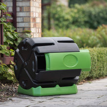 Load image into Gallery viewer, 37-Gallon Recycled Plastic Compost Tumbler