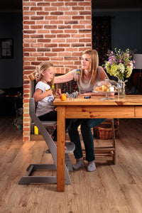 Adjustable Wooden Dining Chair from 24 Months - Teen (Up to 200 lbs.)