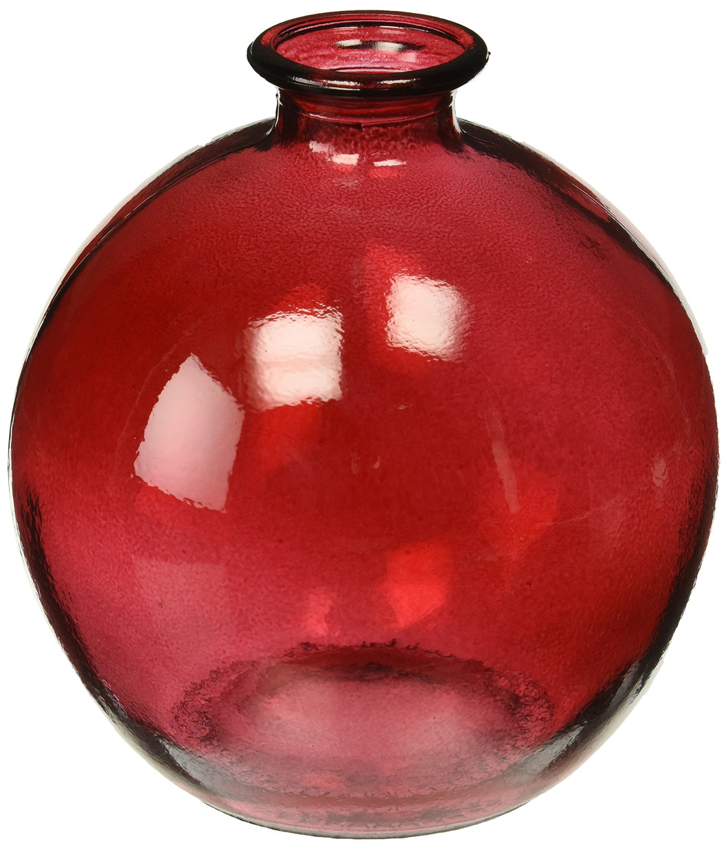 Ball Recycled Glass Vase, 6.75
