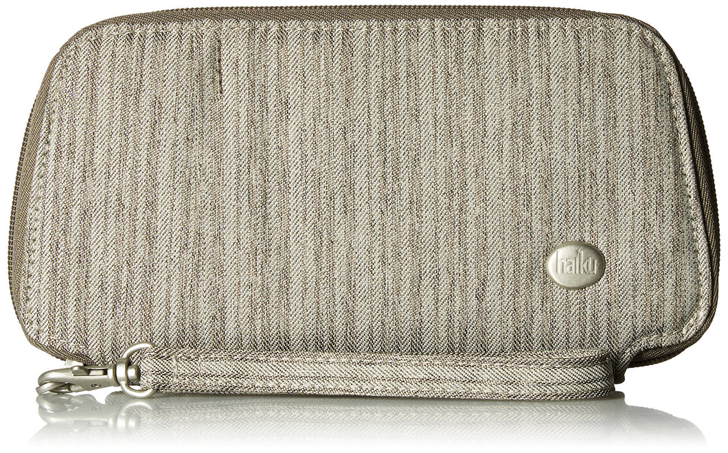 Haiku Women's Small RFID Blocking Zip Closure Clutch Wallet