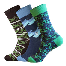 Load image into Gallery viewer, Unique Organic Cotton Socks - Gift a Set of 3 and Protect the Planet
