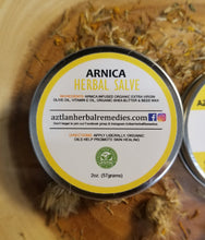 Load image into Gallery viewer, Arnica Salve - Herbal Cream | Aztlan Herbal Remedies