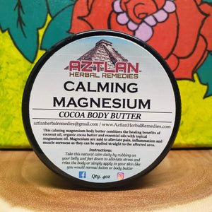 Calming Magnesium Body Butter 4oz