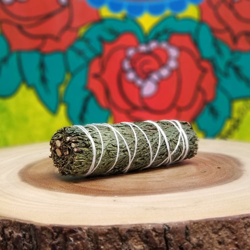 CEDAR SAGE Smudge Stick/ Wand (1pc)