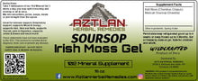 Load image into Gallery viewer, Irish Moss Gel With Soursop 16oz