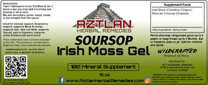 Irish Moss Gel With Soursop 16oz