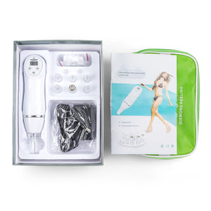 DIAMOND DERMABRASION Device with 6 tips
