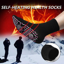 Load image into Gallery viewer, Tourmaline Far Infrared Self-Heating Magnetic Therapy Socks
