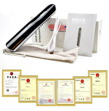 Load image into Gallery viewer, Ionic Technology USB Professional Beard & Hair Straightening Brush/Comb