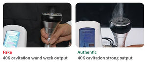 40K Ultrasonic Cavitation Machine with RF + Photon Light for Face & Body
