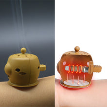 Load image into Gallery viewer, SHARE HO Chinese Therapy Mini Moxibustion Box Burner and Moxa Sticks