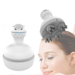 3D Waterproof Electric Head Massager & Wireless Scalp & Body Massage