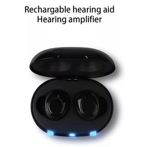 Mini CIC Digital Hearing Aid with Adjustable Tone Sound Amplifier