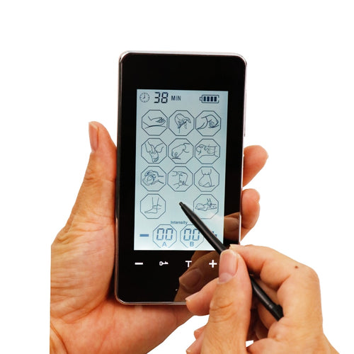 EMS /TENS Smart Screen with 12 Modes and Electrodes