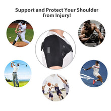 Load image into Gallery viewer, FAR INFRARED Heat Therapy Adjustable Shoulder Brace/Back Support