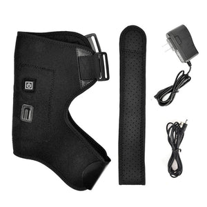 FAR INFRARED Heat Therapy Adjustable Shoulder Brace/Back Support