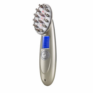 Laser Massage Nurse Comb with RF+ EMS+ PHOTON +O3 + INFRARED for Hair Growth