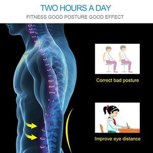 Adjustable Magnetic Corset Posture Corrector for Male Female
