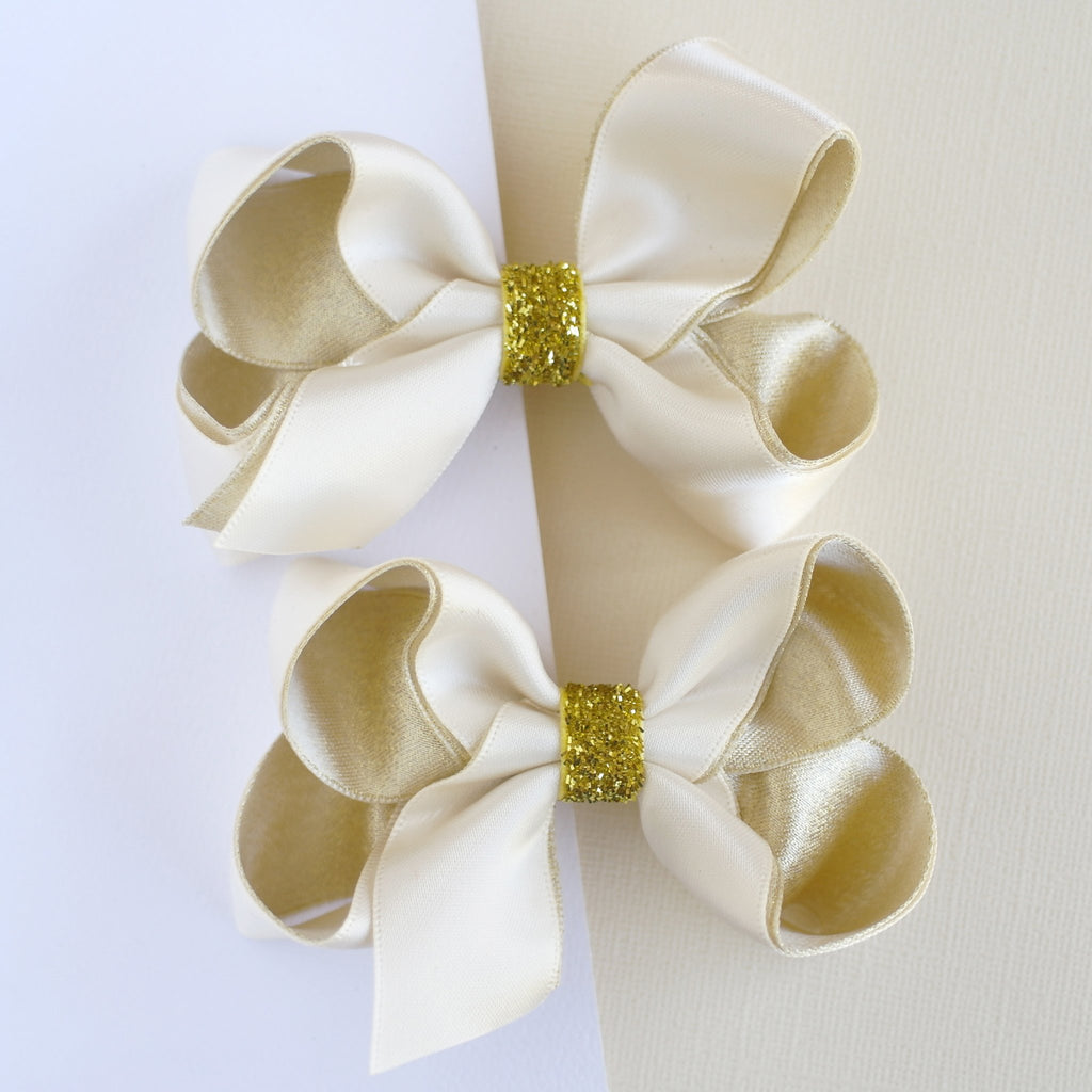 Gold Ribbon Bows