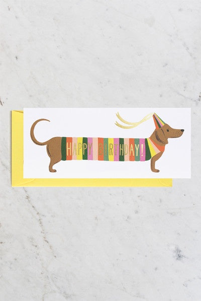 Rifle Paper Co - Single Card - Hot Dog No. 10