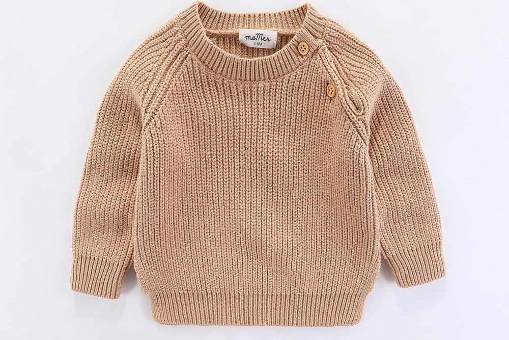 Frankie knitted jumper (cream)