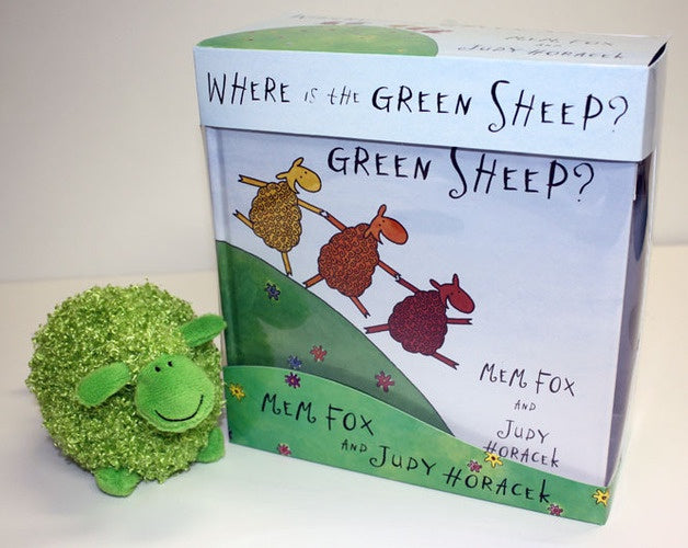 Where is the green sheep  (book and soft toy gift set)