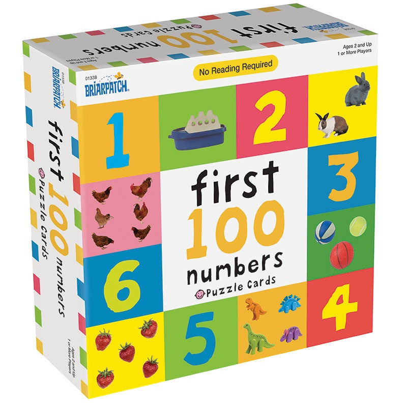 First 100 Numbers Puzzle