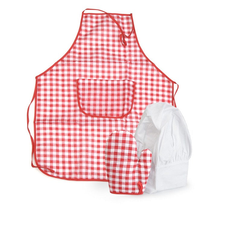 Apron, Glove & Hat Chef's set